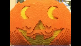 Massive Lego Pumpkin - Video