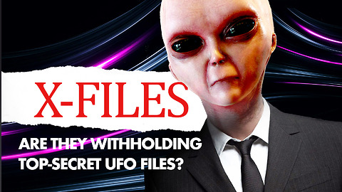 Three X-FILES are missing? Are They withholding Top-Secret UFO Files?