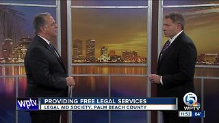 Free legal services available in Palm Beach County - Video