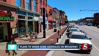 Broadway Expansion To Give Pedestrians More Room - Video