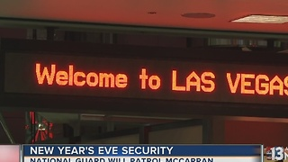 New Year's Eve security underway - Video
