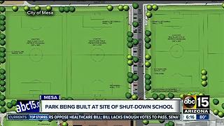 Park, community center set to open at site of former school in Mesa - Video