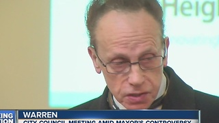 Warren city council meeting expected to discuss Fouts - Video