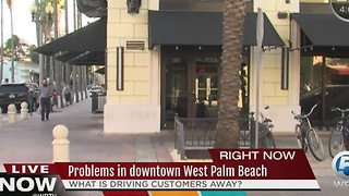 Problems in Downtown West Palm Beach - Video