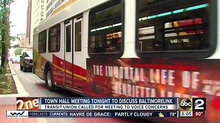 Town hall for BaltimoreLink planned Monday night - Video