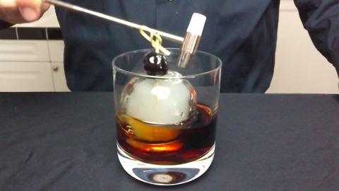 "How to make the ""smoke bomb"" cocktail"