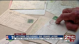 Letters delivered 100 Years later