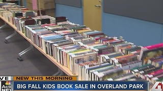 The BIG Fall Kids Book Sale in Overland Park is underway - Video