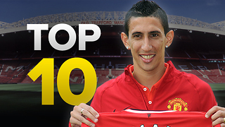 Top 10 Most Expensive Transfers of All-Time - Video