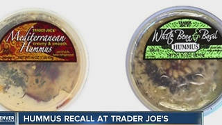 Hummus recall at Trader Joe's - Video