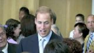 Prince William Goes to School - Video