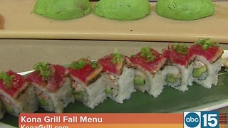 Kona Grill has the details on the new fall menu