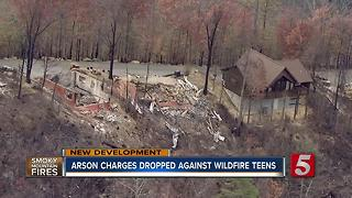 Charges Dropped Against Juveniles Accused Of Starting Devastating Sevier County Fires - Video
