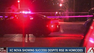KC NOVA showing success despite rise in homicides - Video