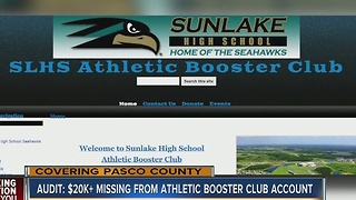 Audit: $20K+ missing from athletic booster club account - Video