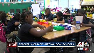 A need for teachers is prompting new options to fill those spots - Video