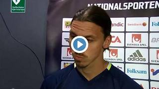 Video: Zlatan Ibrahimovic on whether he's joining Manchester United