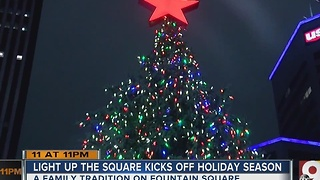 Light Up The Square kicks off holiday season - Video