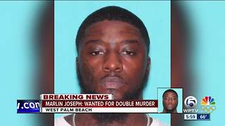 Man wanted in West Palm Beach double murder - Video