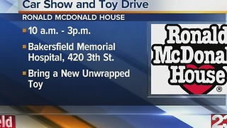 Bakersfield Ronald McDonald House Toy Drive - Video