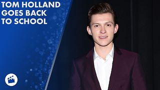 Tom Holland went to school undercover for Spider-Man - Video
