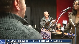 Rallies held in support of Affordable Care Act - Video