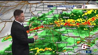 ALERT: Areas of heavy rain, localized flooding possible