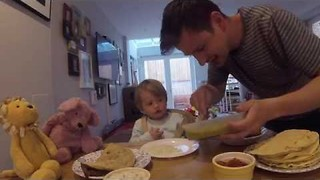 While Mom's Away, Dad Tries to Become Favorite Parent - Video