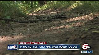 If you got lost on a hike, what would you do? - Video