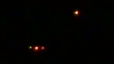 UFO activity filmed on 5 January 2017 part 1