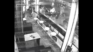 Surveillance video shows brawl that killed UA grad in Greece - Video
