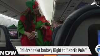 "Children take fantasy flight to the ""North Pole"""