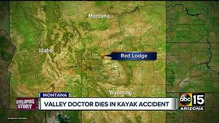 Valley doctor killed during kayaking trip - Video