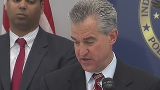 U.S. Attorney Josh Minkler talks about the results of several meth-related raids in Indianapolis - Video
