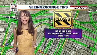 Seeing Orange Traffic Tips for July 19 - Video