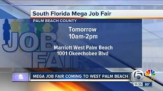 West Palm Beach job fair at Marriott to be held Wednesday - Video