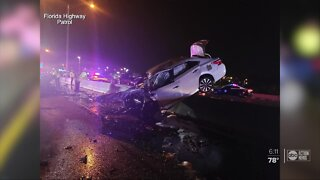 2 people killed after deadly crash on I-275 in Hillsborough Co.