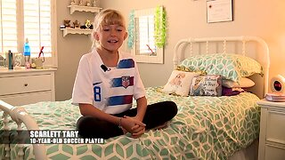 Young girls inspired by USA women's team