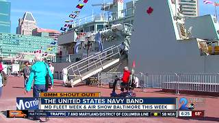 Good morning from the U.S. Navy Band Country Current!