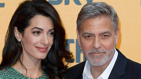 George Clooney Goes With The Flowbee For His DIY Haircuts