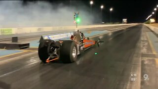 Electric record at Tucson Dragway