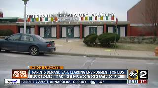 Parents demand safe learning environment for Baltimore City kids - Video