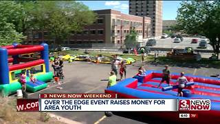 Over the Edge event raises money for youth - Video