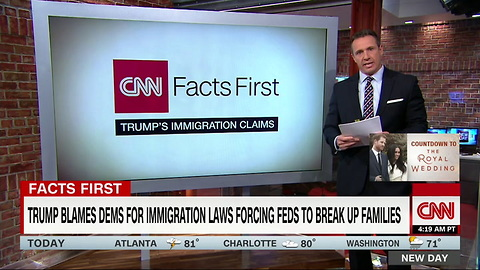 [1280x720] Cuomo fact-checks Trumps claim on immigration