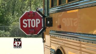Drivers in Holt not stopping for school buses - Video