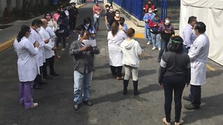 Mexico Shakes Off An Earthquake But Not Mounting Shock From COVID-19