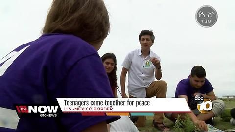 San Diego teenagers come together for peace workshop