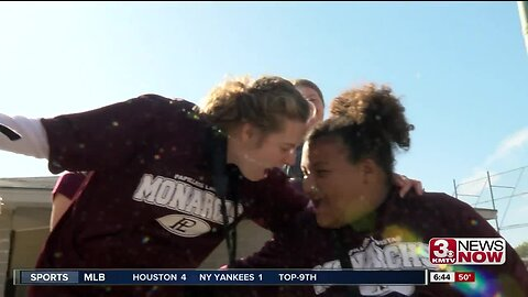 Monarchs' Motivation: Girls with Angelman Syndrome inspire Papio softball team