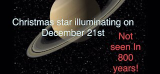 Christmas star not seen in 800 years!