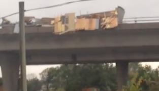 Possible Tornado Scatters Debris Across Gatineau Road - Video